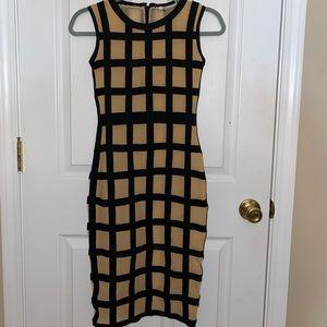 F & P Paris Bandage Bodycon Dress